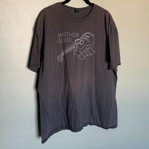 Matthew Good brown band short sleeve tee shirt